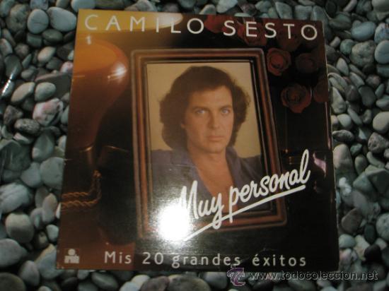 LP-DOBLE-CAMILO SESTO-MUY PERSONAL-MIS 20 GRANDES EXITOS-ARIOLA-EDICION LIMITADA (Música - Discos de Vinilo - Maxi Singles - Solistas Españoles de los 70 a la actualidad)