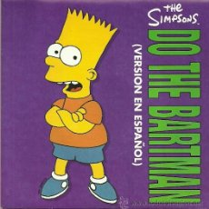 Discos de vinilo: THE SIMPSONS SINGLE SELLO MCA AÑO 1991 EDITADO EN ESPAÑA. Lote 36721752