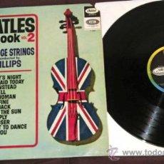 Discos de vinilo: BEATLES PRIMER LP ORQUESTAL ESPAÑA 1965 QUE NOCHE LA DE AQUEL DIA SONGBOOK CAPITOL COLECCION AÑOS 60. Lote 36727913