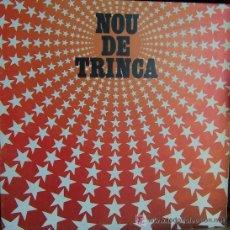 Discos de vinilo: LA TRINCA / NOU DE TRINCA 1981 / ARIOLA SPAIN + LETRAS - CARPETA ABIERTA !! IMPECAB. Lote 36734899