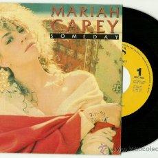 Discos de vinilo: MARIAH CAREY. SOMEDAY (VINILO SINGLE PROMO ESPAÑOL 1990). Lote 36734979