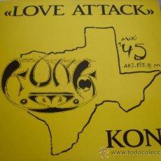 Discos de vinilo - KONK LOVE ATTACK - 36739706