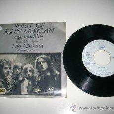 Discos de vinilo: SPIRIT OF JOHN MORGAN AGE MACHINE / LOST NIRVANA (1971 EXIT EKIPO ESPAÑA) HARD ROCK . Lote 36745351