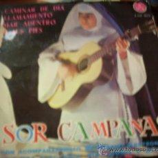 Discos de vinilo: SOR CAMPANAS: GRUPO CAMINAR DE DIA / LLAMAMIENTO ..+2 (PAX ,1965). Lote 36902026