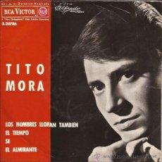 Discos de vinilo: EP-TITO MORA-RCA 3 20786-1964. Lote 36750590