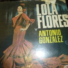 Discos de vinilo: LOLA FLORES Y ANTONIO GONZALEZ, LP DE 12 CANCIONES, DEL SELLO BELTER. Lote 36756487