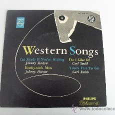 Discos de vinilo: WESTERN SONGS - JOHNNY HORTON - CARL SMITH - I'M READY IF YOU ARE WILLING + 3 EP MADE IN HOLLAND. Lote 36756744