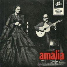 Discos de vinilo: AMALIA RODRIGUES EP SELLO EMI-COLUMBIA EDITADO EN PORTUGAL. Lote 36756858