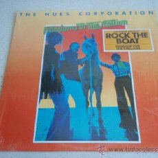 Discos de vinilo: THE HUES CORPORATION ( FREEDOM FOR THE STALLION ) USA - 1973 LP33 RCA. Lote 36759340