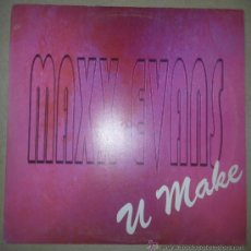 Discos de vinilo: MAXX EVANS U MAKE CONTRASEÑA RECORDS 1997 ELECTRONIC PROGRESSIVE TRANCE. Lote 36762237