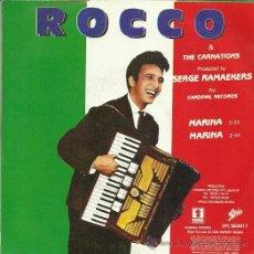 Discos de vinilo: ROCCO & THE CARNATIONS SINGLE SELLO EPIC AÑO 1989 EDITADO EN ESPAÑA. Lote 36763226