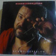 Discos de vinilo: KLAUS LAGE BAND - SCHWEISSPERLEN - LP MUSIKANT - 1C 066 1469461 - ALEMANIA 1984. Lote 36767216