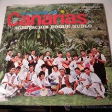 Discos de vinilo: LO MEJOR DE CANARIAS - AGRUPACIÓN ROQUE NUBLO - DISCOPHON. Lote 36775081