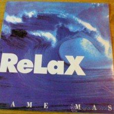 Discos de vinilo: RELAX. DAME MÁS. DEDICATE A BAILAR.. Lote 36780233