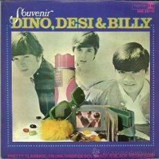 Discos de vinilo: DINO, DESI & BILLY EP SELLO HISPAVOX AÑO 1966 EDITADO EN ESPAÑA. Lote 36776637