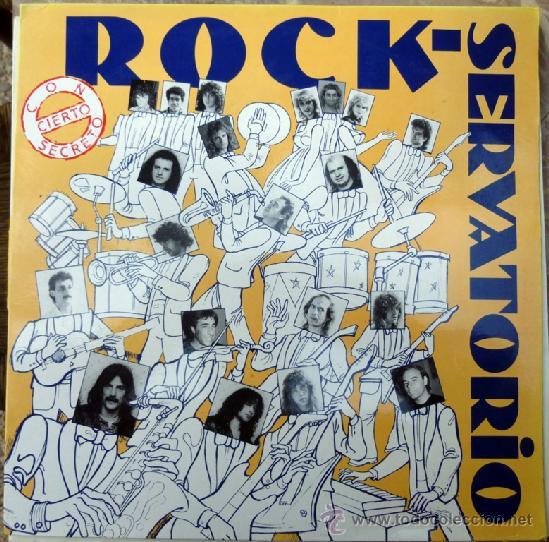 VVAA. ROCK-SERVATORIO, CON-CIERTO SECRETO. MISTER-BOX, ESP. 1988 LP (Música - Discos - LP Vinilo - Grupos Españoles de los 70 y 80)