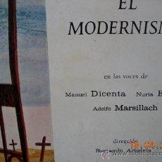 Discos de vinilo: VERSOS Y COPLAS LP EL MODERNISMO . Lote 36788737
