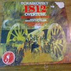 Discos de vinilo: TCHAIKOVSKY. 1812 OVERTURE ROMEO AND JULIET. . Lote 36792101