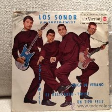 Discos de vinilo: LOS SONOR EP 1962 - LA CHICA DE VERANO + 3. Lote 36792252