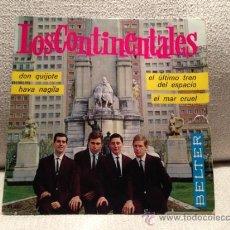 Discos de vinilo: EP LOS CONTINENTALES - GRUPO SURF 1964. Lote 36792288