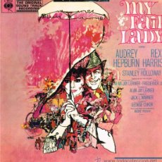 Discos de vinilo: MY FAIR LADY - LP 1965 - PORTADA DOBLE. Lote 36800257
