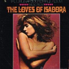 Discos de vinilo: THE LOVES OF ISADORA - THE ORIGINAL SOUNDTRACK ALBUM - LP MADE IN USA. Lote 36822309