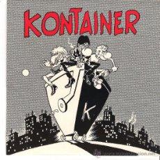Discos de vinilo: KONTAINER - NO + EL CONDENADO +..... ( E.P. TRALLA RECORDS,1991 PUNK ). Lote 36795489