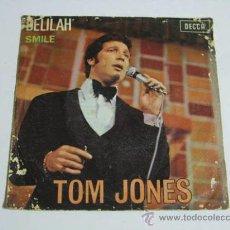 Discos de vinilo: SINGLE TOM JONES, DELILAH.. Lote 36796604