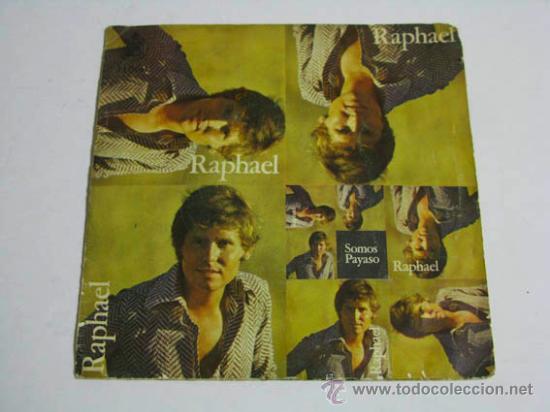 SINGLE RAPHAEL, SOMOS. (Música - Discos - Singles Vinilo - Solistas Españoles de los 50 y 60)