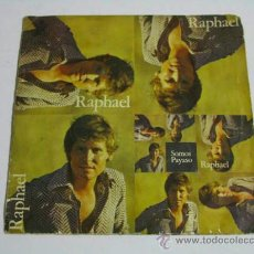 Discos de vinilo: SINGLE RAPHAEL, SOMOS.. Lote 36796835