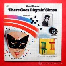 Discos de vinilo: PAUL SIMON THERE GOES RHYMIN' SIMON LP VINILO CBS 1973. Lote 36798027