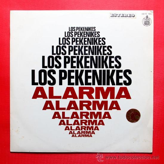 LOS PEKENIKES ALARMA LP VINILO HISPAVOX 1969 (Música - Discos - LP Vinilo - Grupos Españoles 50 y 60)