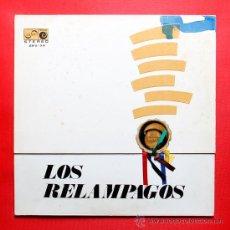 Discos de vinilo: LOS RELAMPAGOS 6 PISTAS LP VINILO ZAFIRO 1967. Lote 36803252