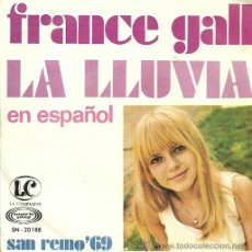 Discos de vinilo: FRANCE GALL CANTA EN ESPAÑOL SINGLE SELLO MOVIEPLAY AÑO 1969 EDITADO EN ESPAÑA. Lote 36804171