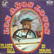Discos de vinilo: FRANCE GALL CANTA EN ESPAÑOL SINGLE SELLO MOVIEPLAY AÑO 1970 EDITADO EN ESPAÑA. Lote 36804313