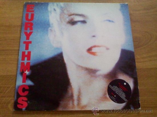 EURYTHMICS . BE YOURSELF TONIGHT. 1985 EDICION ALEMANA. (Música - Discos - LP Vinilo - Grupos Españoles de los 90 a la actualidad)