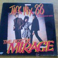 Discos de vinilo: THE BEST OF MIRAGE. JACK MIX 88. . 1987. EDICION INGLESA.. Lote 36817370