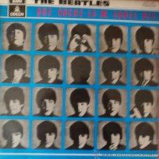 Discos de vinilo: THE BEATLES - A HARD DAY'S NIGHT - 3.ª EDICIÓN DE ESPAÑA. Lote 36862795