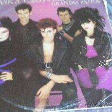 Discos de vinilo: ALASKA Y LOS PEGAMOIDES. GRANDES EXITOS. Lote 36809871