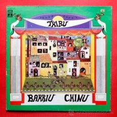 Discos de vinilo: BARRIU CHINU TRIBU LP VINILO EMI ODEON 1978. Lote 36812015