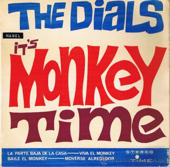 THE DIALS - IT'S MONKEY TIME - LA PARTE BAJA DE LA CASA - BAILE EL MONKEY - MOVERSE ALREDEDOR - 1964 (Música - Discos - Singles Vinilo - Pop - Rock Internacional de los 50 y 60)