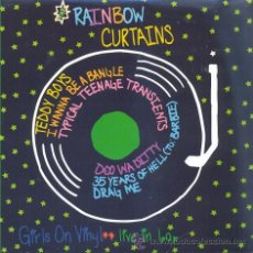 Discos de vinilo: THE RAINBOW CURTAINS - TEDDY BOY 7