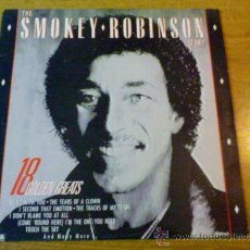 Discos de vinilo: SMOKEY. ROBINSON. STORY. 18 GOLDEN GREATS.. Lote 36832440