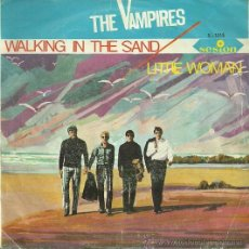 Discos de vinilo: THE VAMPIRES SINGLE SELLO SESION AÑO 1966 EDITADO EN ESPAÑA. Lote 36830704