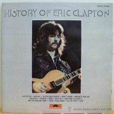 Discos de vinilo: ERIC CLAPTON - HISTORY OF ERIC CLAPTON (DOBLE LP ESPAÑOL) COMO NUEVO. Lote 36834780