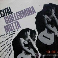 Discos de vinilo: GUILLERMINA MOTTA RECITAL. Lote 36837414