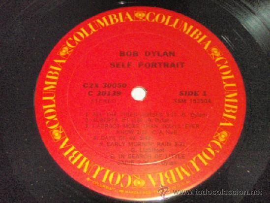 Discos de vinilo: BOB DYLAN ( SELF PORTRAIT ) 2LPS USA COLUMBIA CARATULA DOBLE - Foto 9 - 14643277