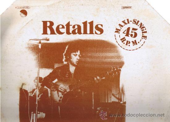 RETALLS - MARIO BALAGUER - FOTO ADICIONAL (Música - Discos de Vinilo - Maxi Singles - Solistas Españoles de los 70 a la actualidad)