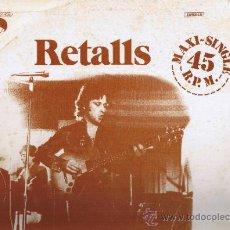 Discos de vinilo: RETALLS - MARIO BALAGUER - FOTO ADICIONAL. Lote 36840302