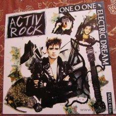 Discos de vinilo: MAXI-SINGLE DE ONE O ONE ELECTRIC DREAM -TITULO ACTIV' ROCK- ORIGINAL DEL 89- ¡¡¡NUEVO A ESTRENAR¡¡. Lote 36842369